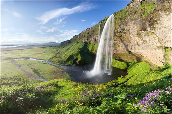 شلالات ايسلندا 3