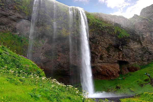 شلالات ايسلندا 4