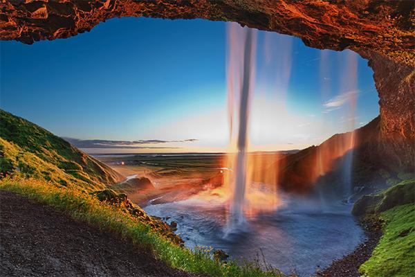 شلالات ايسلندا 5