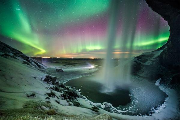 شلالات ايسلندا 8