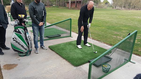 تدريب الغولف