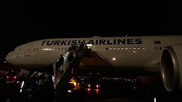 من جدة الى اسطنبول