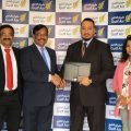 Image 01 - (L-R) Qatar-UAE Exchange Country Head Mathai Vaidian with Gul...
