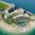 Rixos The Palm Dubai Aerial View