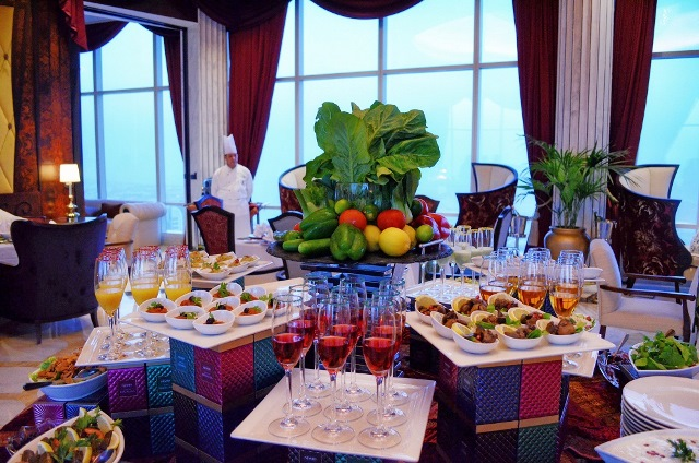 The St. Regis Abu Dhabi_Iftar in The Clouds 8