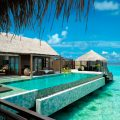 Villa Muthee deck and infinity pool Shangri-La's Villingili Resort & Spa...