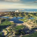 JA Jebel Ali Beach Hotel - Golf Course Aerial View-1