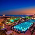 Rixos Bab Al Bahr - Pool View Night -