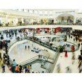 Shoppers at City Centre Deira