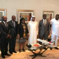 The-delegation-meet-in-H-H-Sheikh-Ahmed_s-offices-at-Emirates-Group-Headquarters