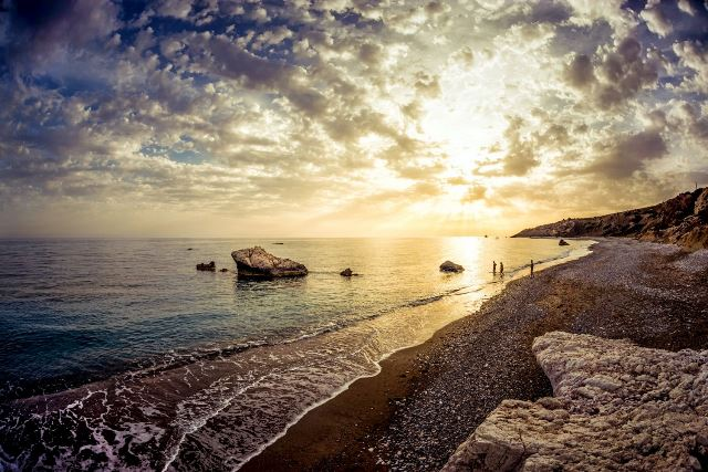 6. Cyprus Tourism Organisation -Seascape near Petra tou Romiou ed