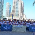 TIME Hotels Breast cancer charity walk