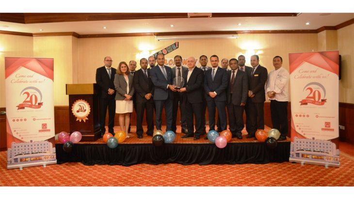 مركز ورزيدنس البستان يحصل على جائزة خدمة الضيافة ضمن المعايير المتميزة