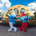The Smurfs - Vanity and Papa Smurf