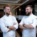 FS Bahrain_Chinese NY at re Asian Cuisine_Chef Brian Becher and Pastry Chef Pierre Chambon