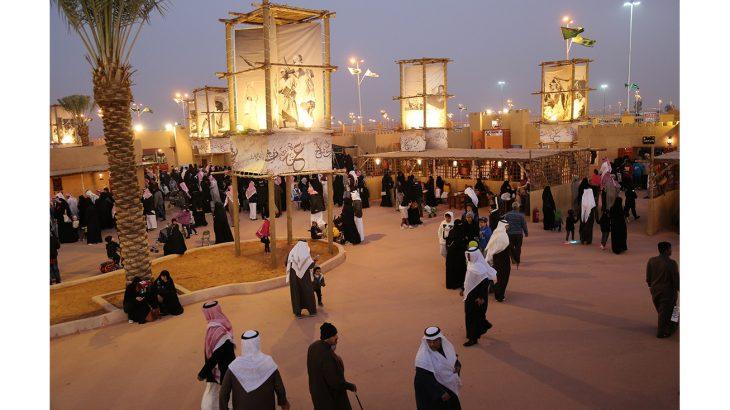 حظي جناح الإمارات في الجنادرية على إقبال متميز من ضيوف المهرجان