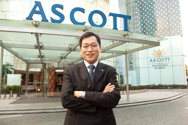 كيفن جوه، الرئيس التنفيذي لـمجموعة أسكوت العالمية للفنادق