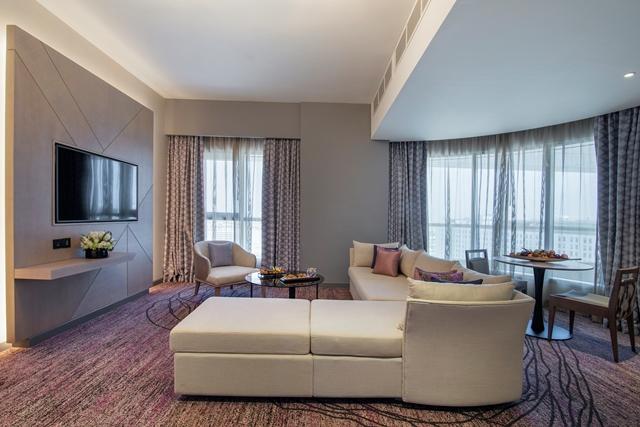 الغرف في فندق بيرل روتانا أبوظبي