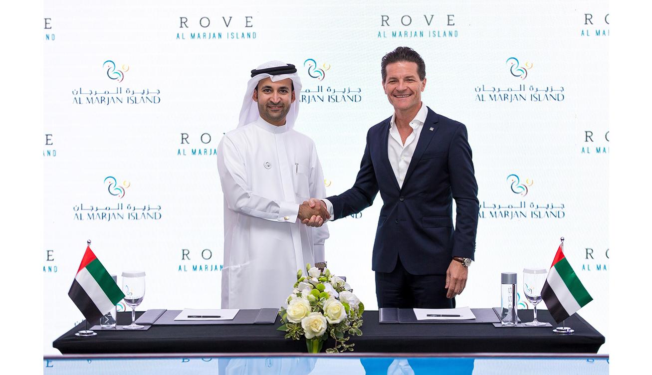 Abdullah Al Abdooli, Al Marjan Island & Olivier Harnisch, Emaar Hospitality Group