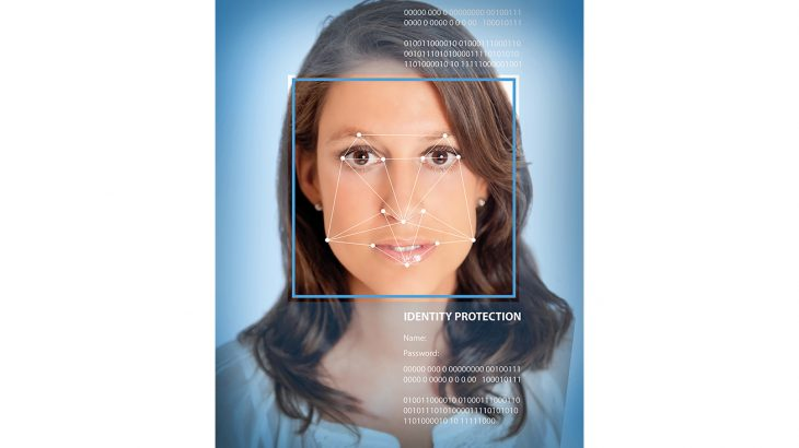 Female facial recognition software shutterstock_136874459