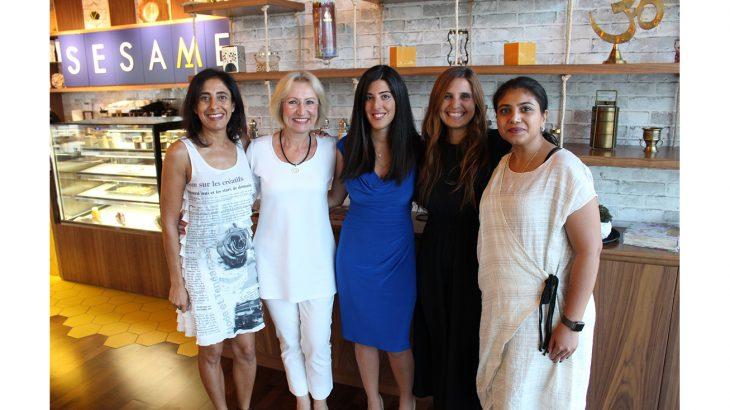 Irina Sharma, Barbara Jackle, Maria Abi Hanna, Nadine Tayara and Neha Jamani