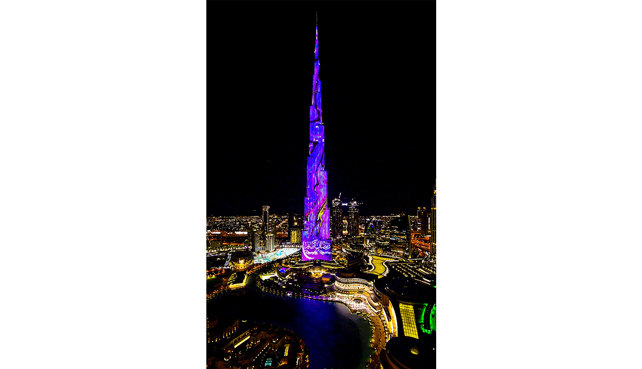 Burj Khalifa LED Shows for Ramadan