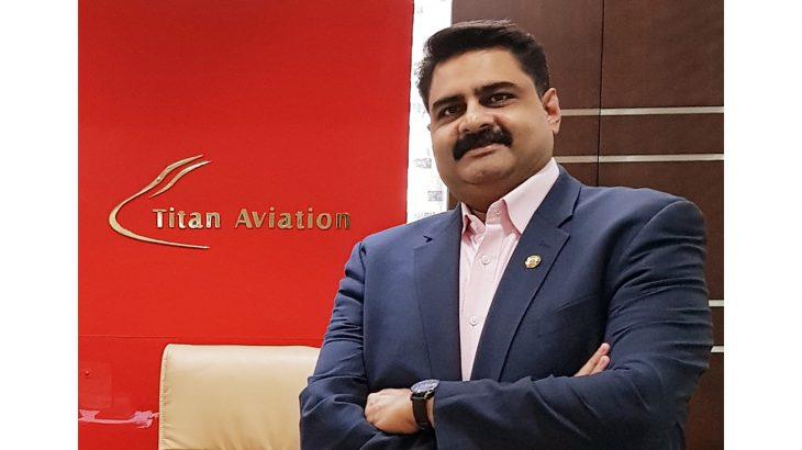 Capt Sakeer Sheik, Founder and Chairman, Titan Aviation Group