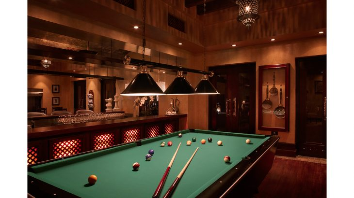 Al Forsan Lounge pool table area - Bab Al Shams Desert Resort & Spa