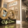 The ICONS© Lounge Concept is a luxury segment to the high street coffee chain with inlays of gold spanning over 250 sq m