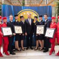 Lufthansa Group Wins Four Skytrax Awards