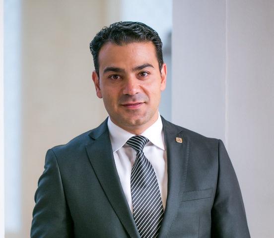 Ayman Ashor, General Manager of Arjaan by Rotana Hotel Dubai Media City