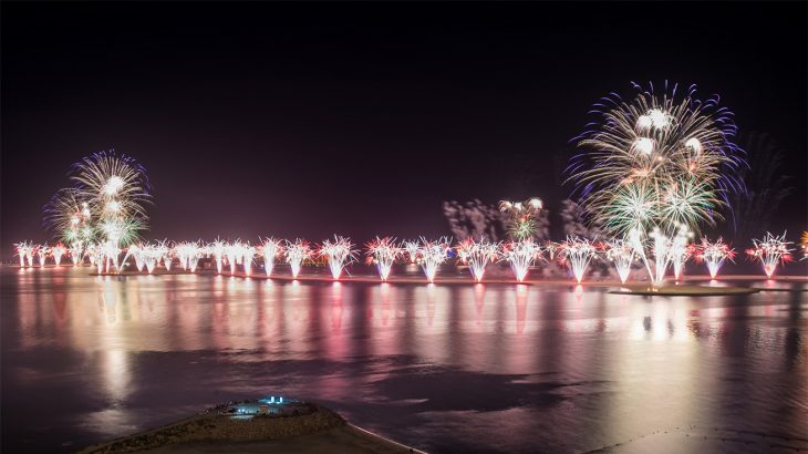 NYE celebration at Al Marjan Island