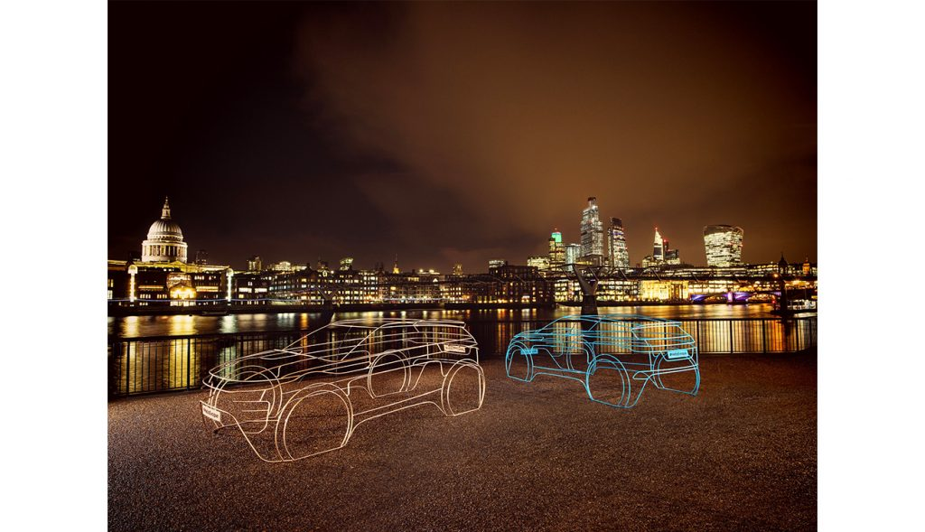 ART INSTALLATIONS SIGNAL COUNTDOWN TO WORLD PREMIERE OF THE NEW RANGE RO...
