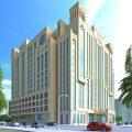 Al Jaddaf Rotana - Exterior
