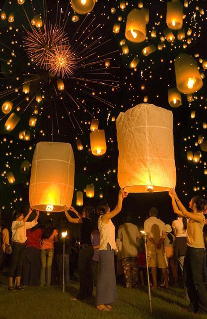 Chiang Mai Yi Peng Festival, Chiang Mai