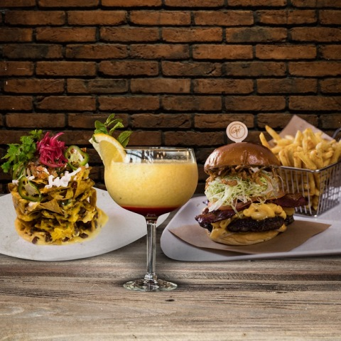 Guy Fieri's Kitchen and Bar everyday offers (Brunch)