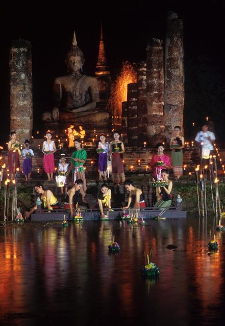 Sukhothai Loi Krathong and Candle Festival, Sukhothai_1