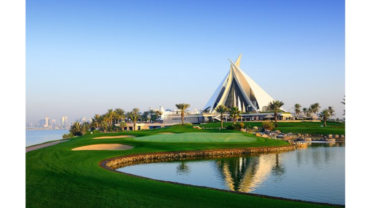 dubaicreek 18 green 2
