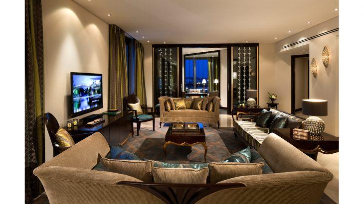 Royal Diamond Suite Living Room 1