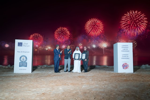 2019 Ras Al Khaimah New Year's Eve Fireworks 2