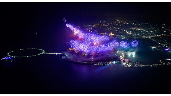 2019 Ras Al Khaimah New Year's Eve Fireworks