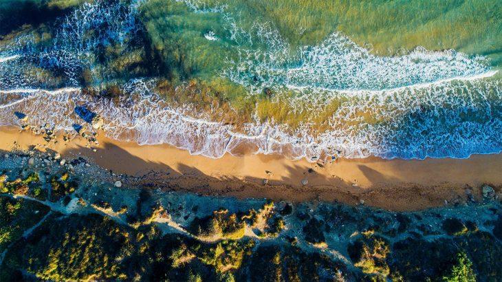 Aerial-view-Riviera-Beach-Malta