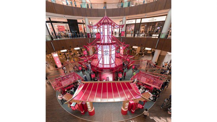 Chinese New Year Pagoda at The Dubai Mall
