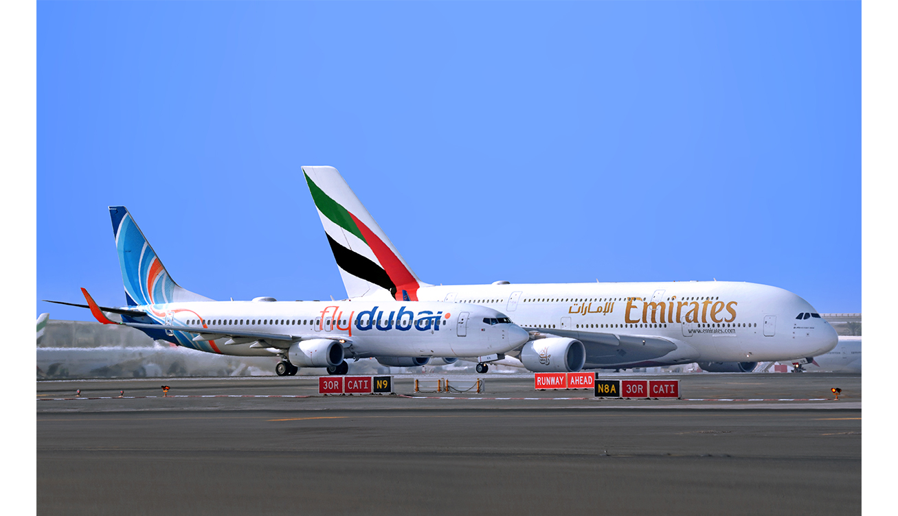 Emirates and flydubai