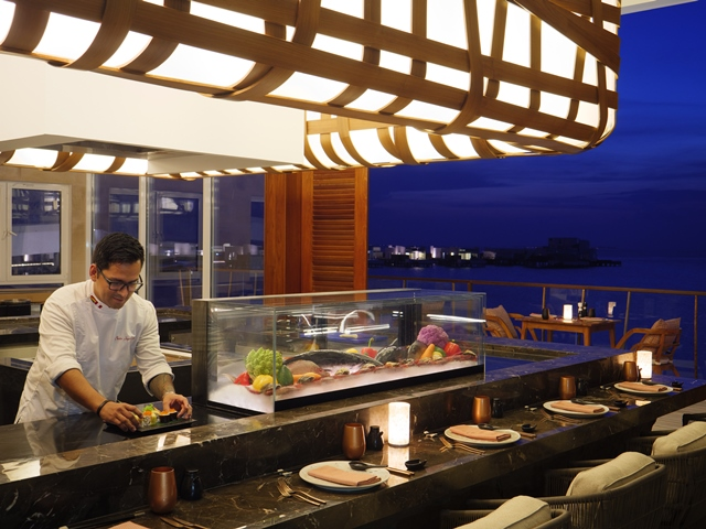 Inti Restaurant at LUX North Male Atoll