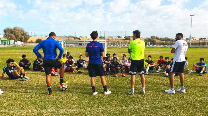 RAKTDA The Football Academy partnership-Image 1