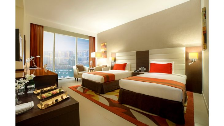 m-hotel-downtown-by-millennium-standard-twin-room