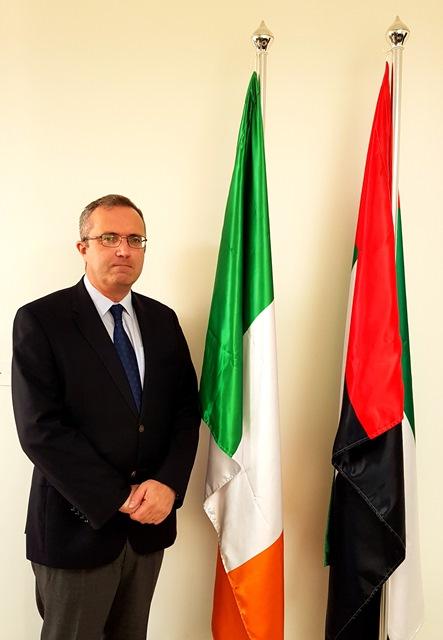 آيدان كرونين، سفير أيرلندا لدى دولة الإمارات العربية المتحدة