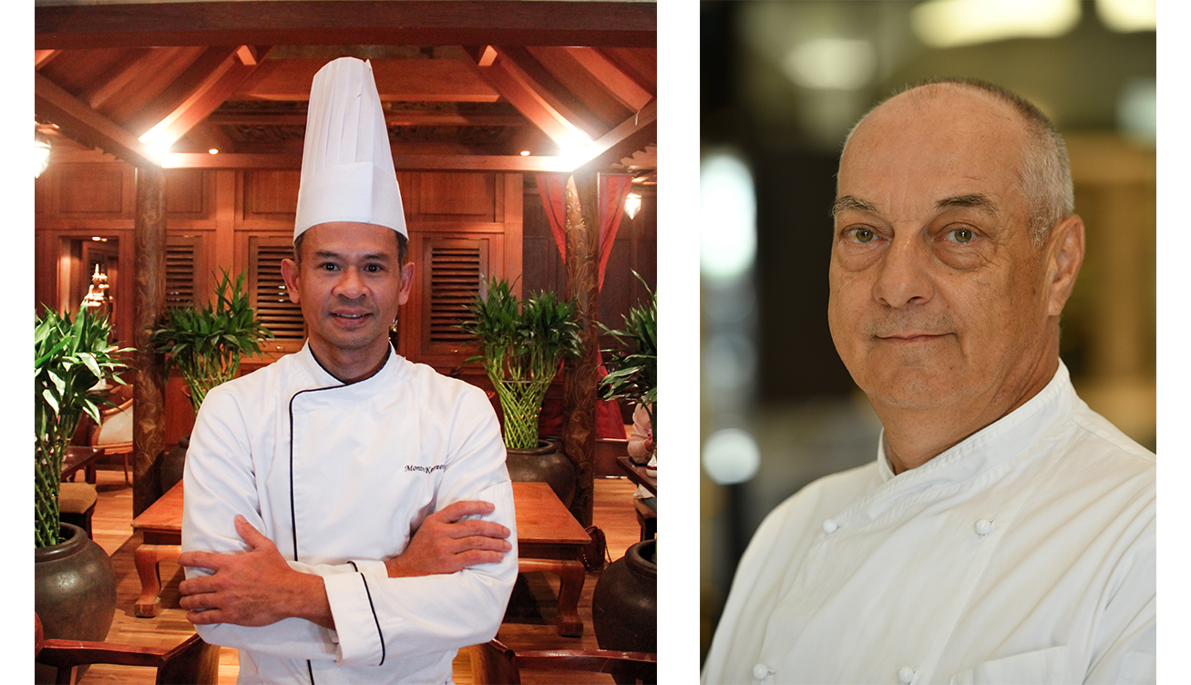 Chef Maurizio & Chef Montree