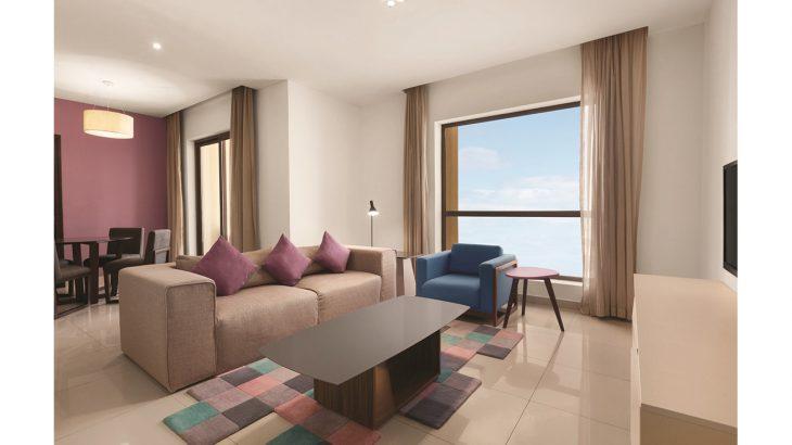 HSW - One Bedroom Suite - Seaview - Living Room